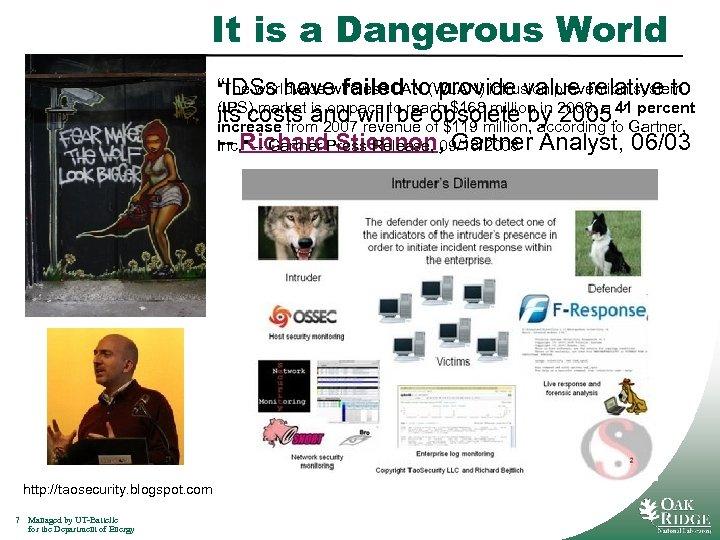 It is a Dangerous World