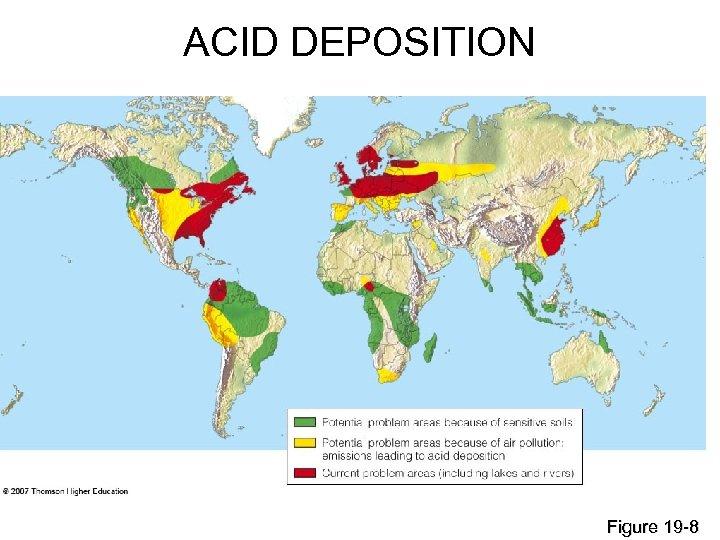 ACID DEPOSITION Figure 19 -8