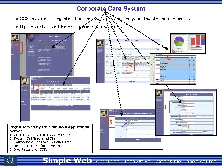 Corporate Care System CCS provides Integrated Business Solutions as per your flexible requirements. Highly