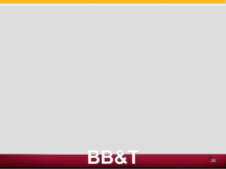 BB&T 38 38