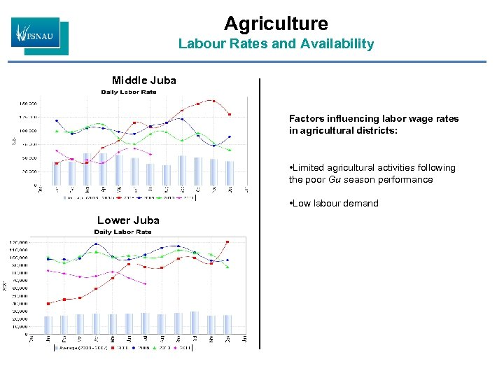 Agriculture Labour Rates and Availability Middle Juba Factors influencing labor wage rates in agricultural