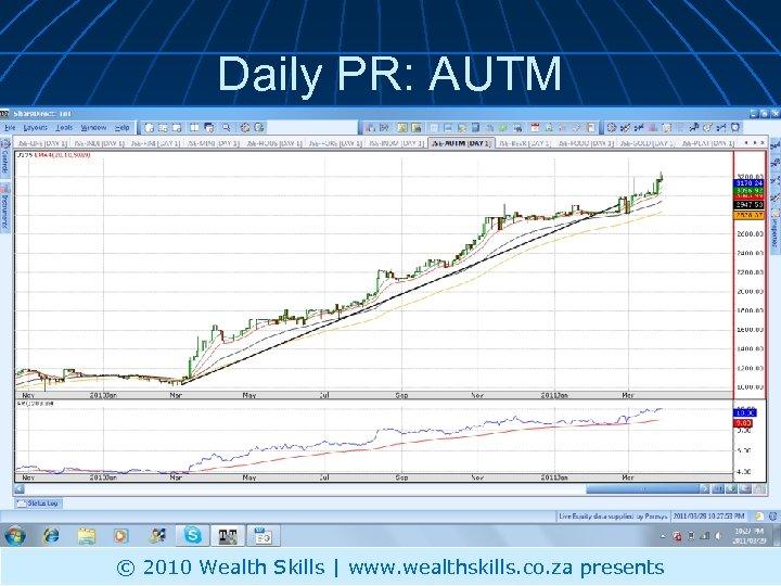 Daily PR: AUTM © 2010 Wealth Skills | www. wealthskills. co. za presents