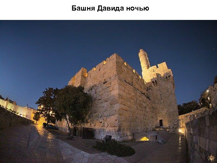 Башня Давида ночью
