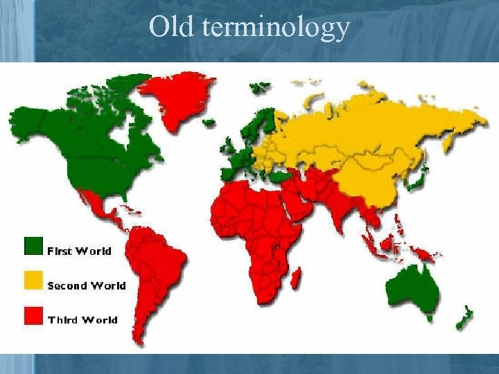 Old terminology