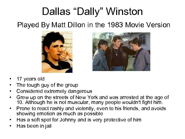 how old is dallas winston