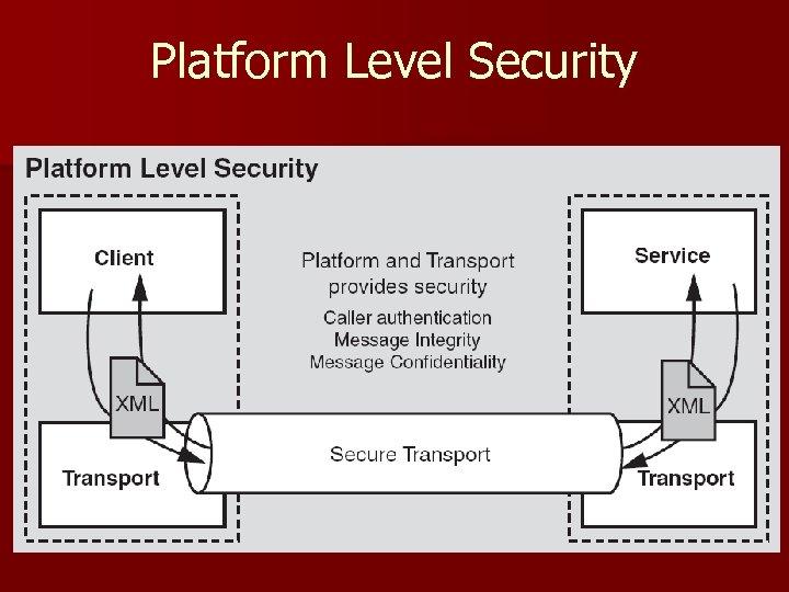 Platform Level Security