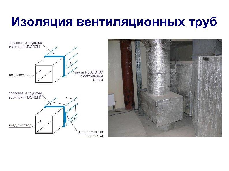 Изоляция вентиляционных труб
