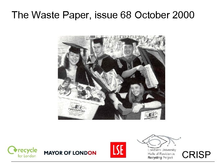 The Waste Paper, issue 68 October 2000