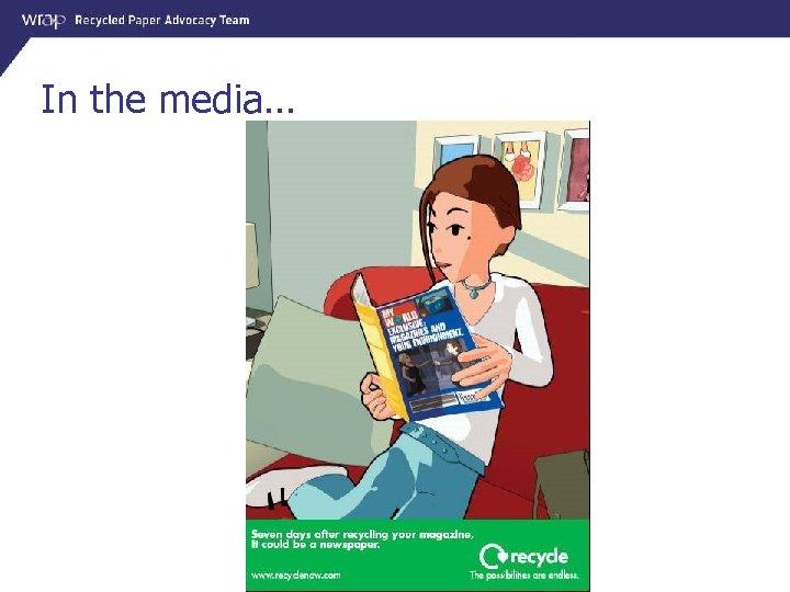 In the media…