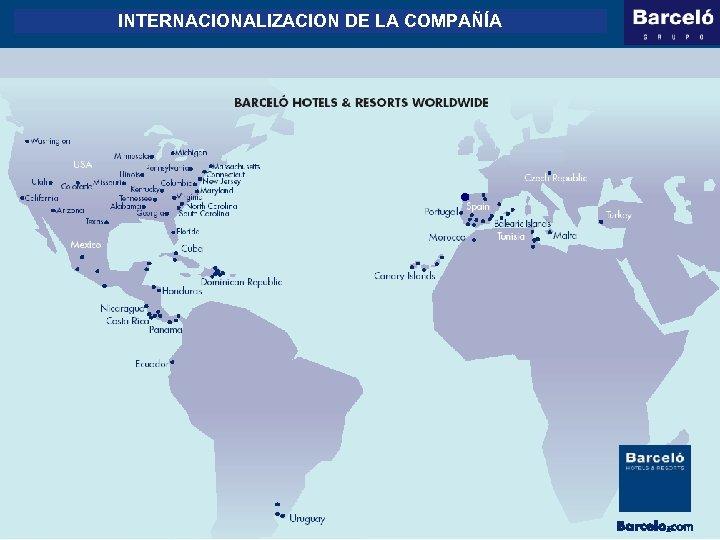 INTERNACIONALIZACION DE LA COMPAÑÍA