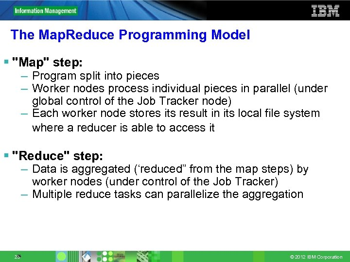 The Map. Reduce Programming Model §