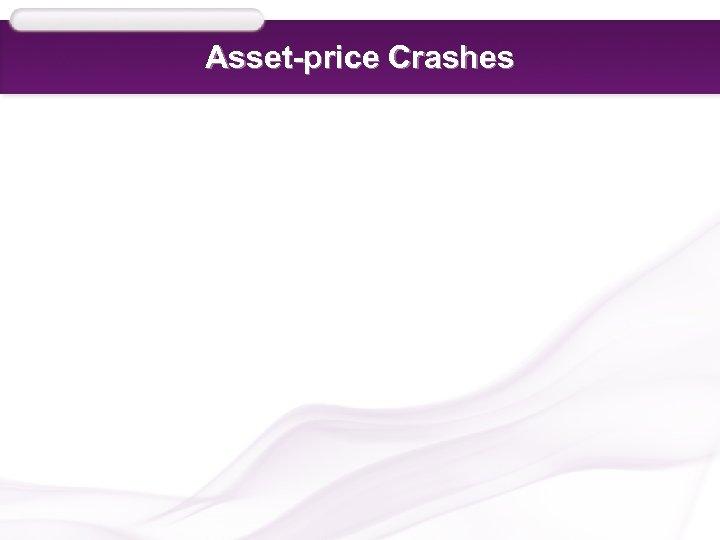 Asset-price Crashes