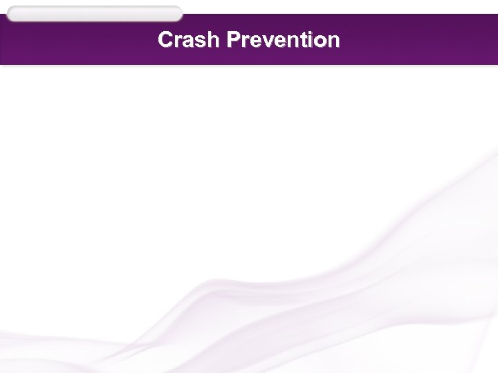 Crash Prevention