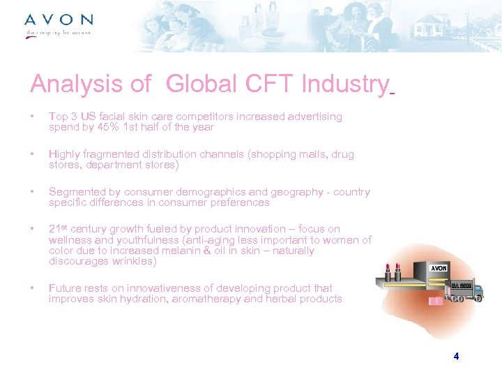 Analysis of Global CFT Industry • Top 3 US facial skin care competitors increased