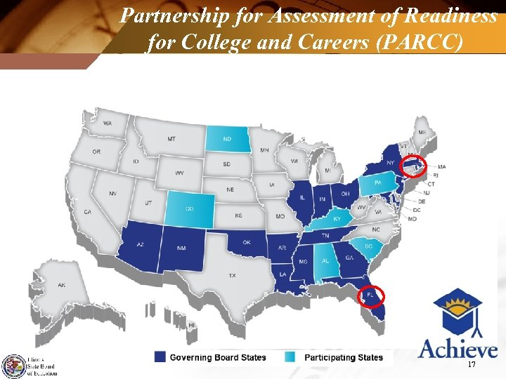 Partnership for Assessment of Readiness for College and Careers (PARCC) 17