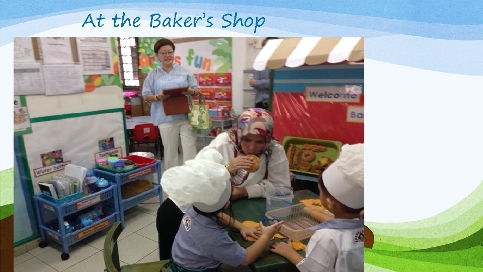 At the Baker's Shop