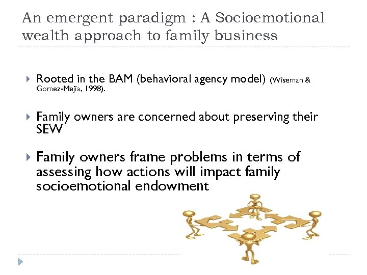 An emergent paradigm : A Socioemotional wealth approach to family business Rooted in the
