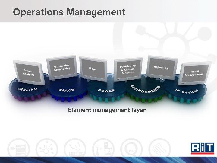 Operations Management Element management layer