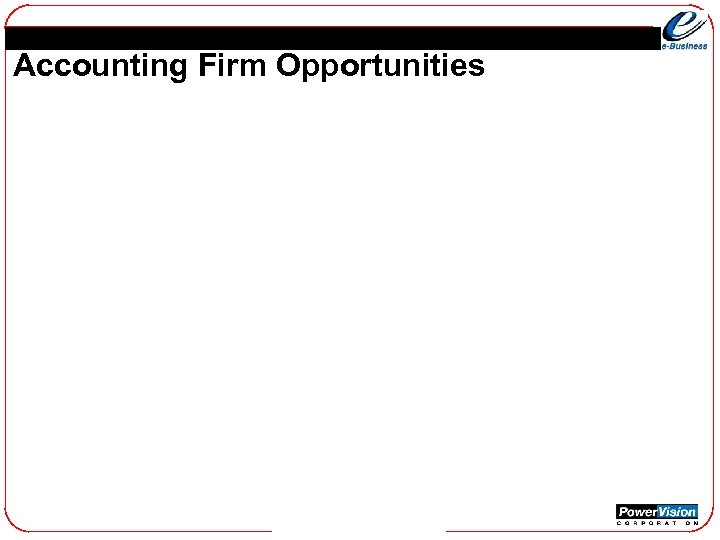 Accounting Firm Opportunities