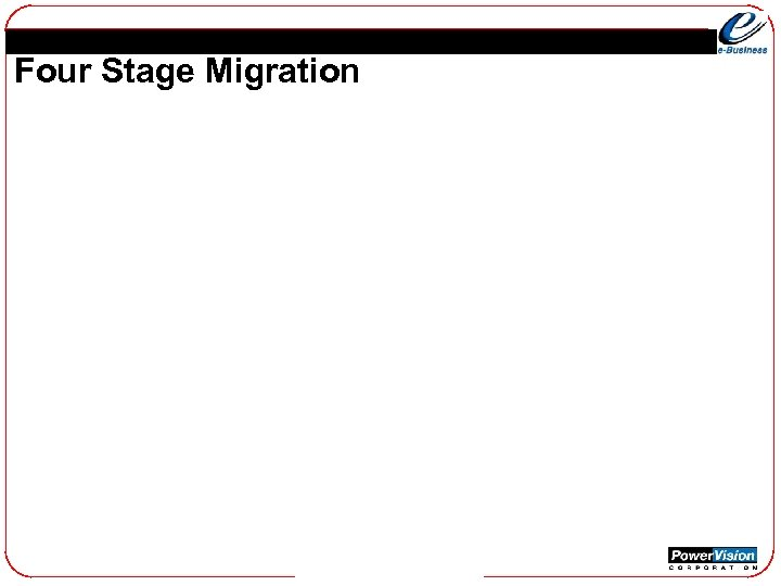 Four Stage Migration