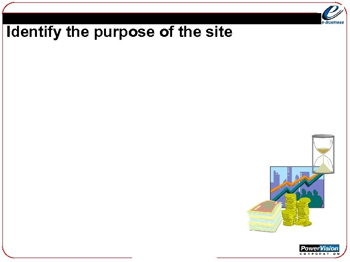 Identify the purpose of the site
