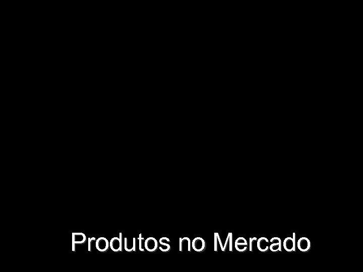 Produtos no Mercado