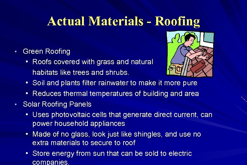 Actual Materials - Roofing • Green Roofing • Roofs covered with grass and natural