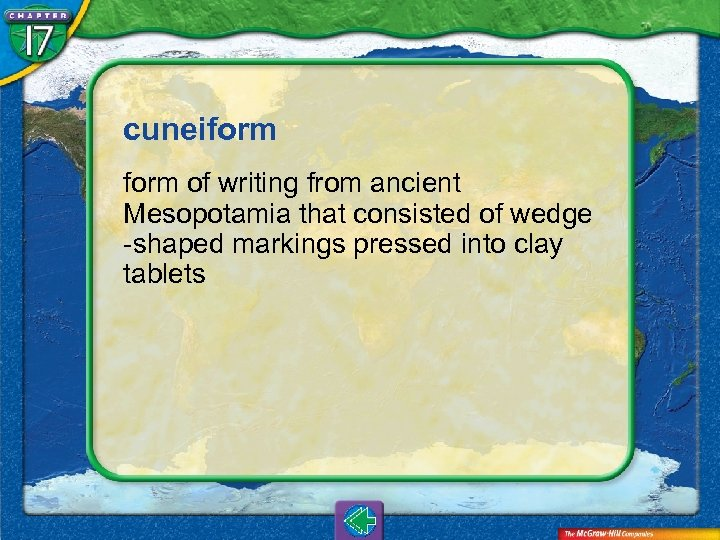 cuneiform of writing from ancient Mesopotamia that consisted of wedge -shaped markings pressed into
