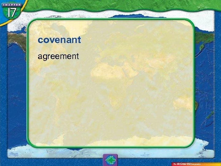 covenant agreement