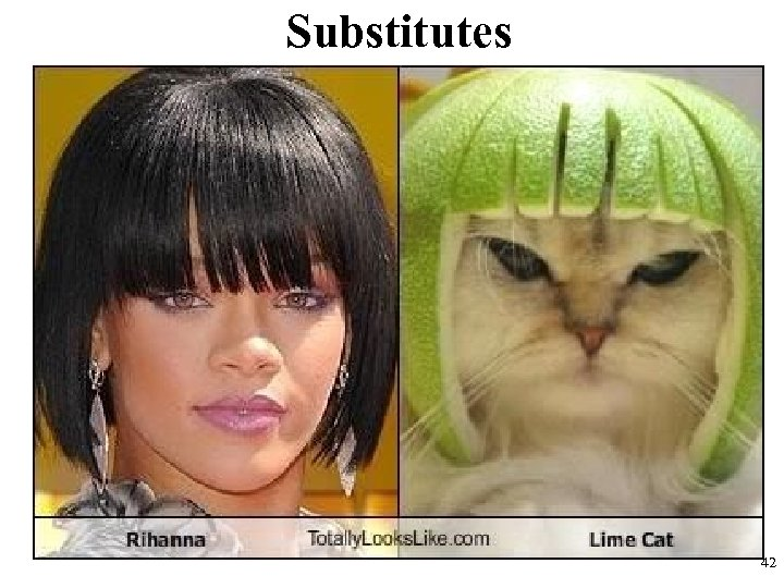 Substitutes 42
