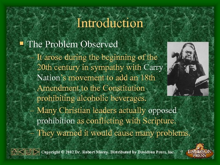 Introduction § The Problem Observed – It arose during the beginning of the 20