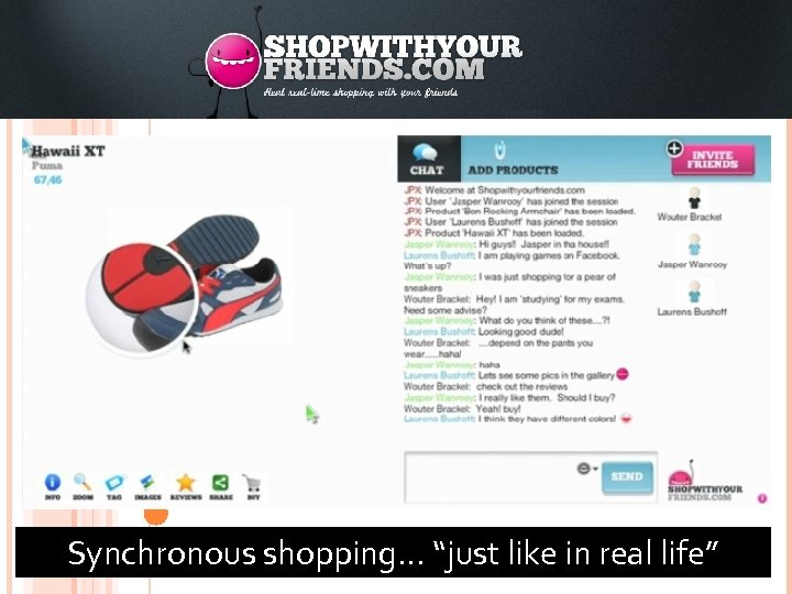 """83 Synchronous shopping… """"just like in real life"""""""
