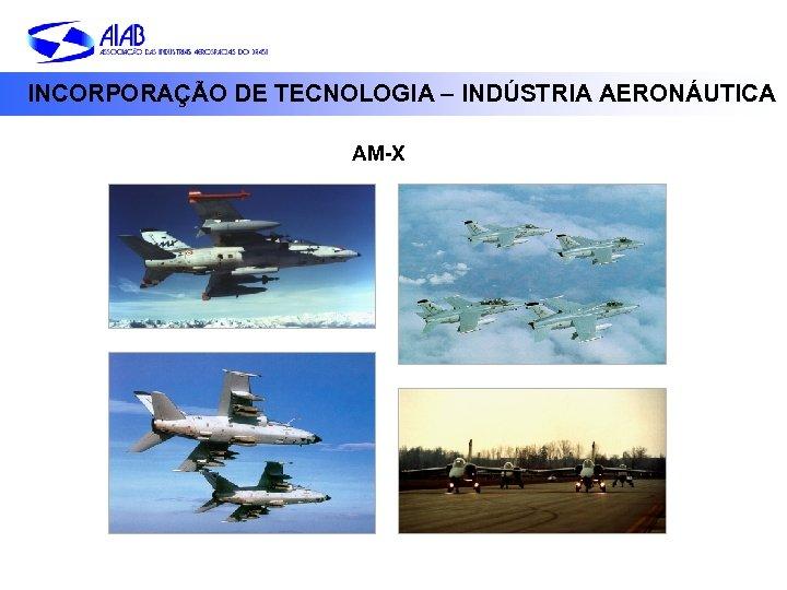 INCORPORAÇÃO DE TECNOLOGIA – INDÚSTRIA AERONÁUTICA AM-X