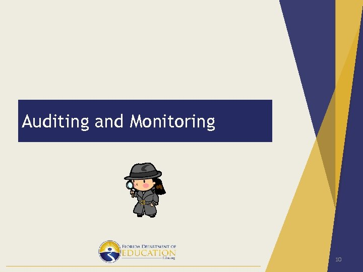 Auditing and Monitoring 10