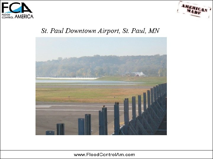 St. Paul Downtown Airport, St. Paul, MN