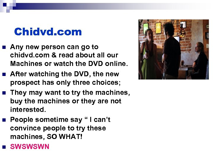 Chidvd. com n n n Any new person can go to chidvd. com &