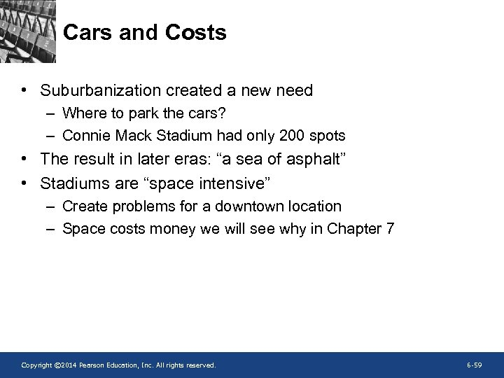 Cars and Costs • Suburbanization created a new need – Where to park the
