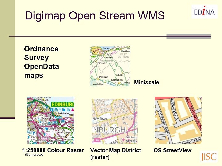 Digimap Open Stream WMS Ordnance Survey Open. Data maps 1: 250000 Colour Raster #lbs_nococoa