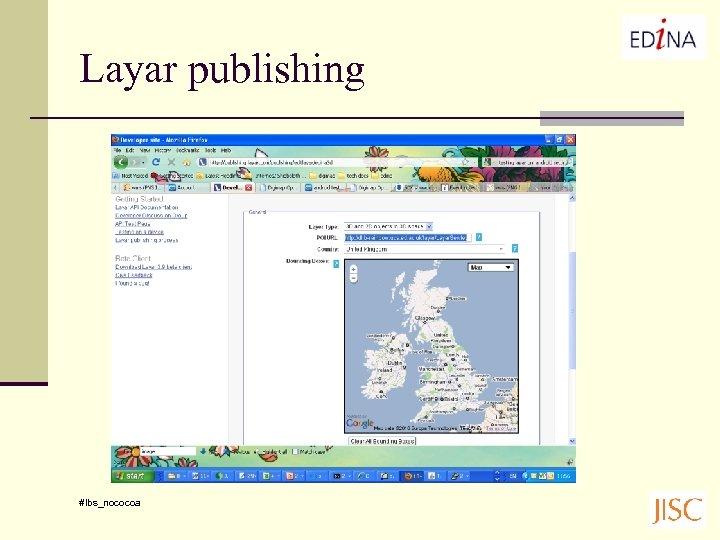 Layar publishing #lbs_nococoa