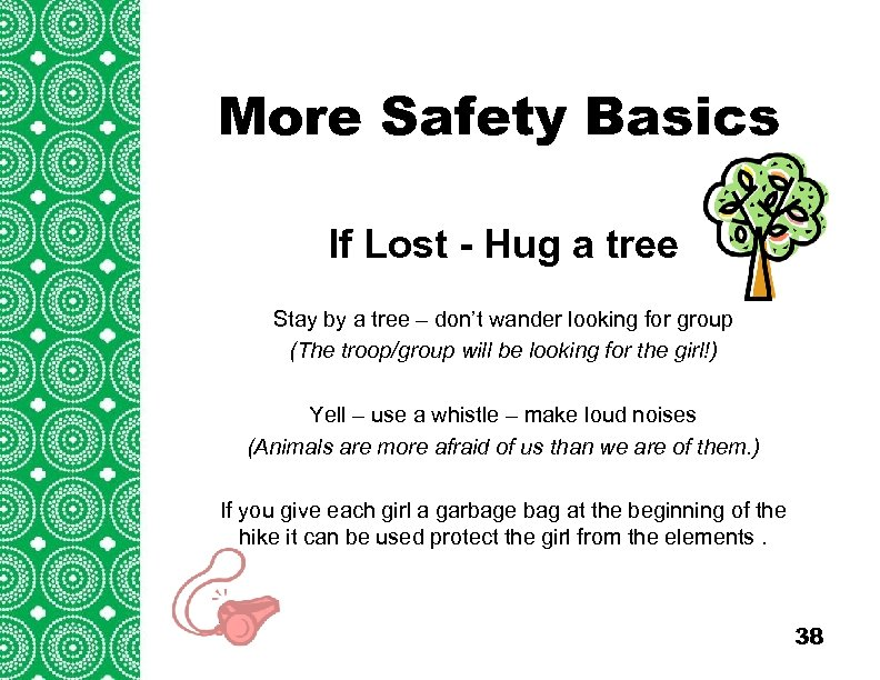 More Safety Introduction Basics (cont'd) Troops/Groups are also encouraged to explore the travel opportunities