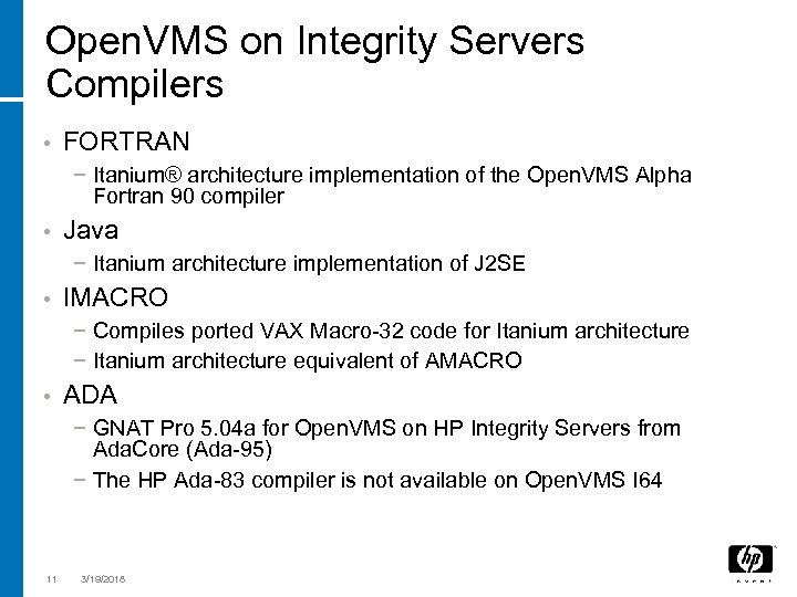 Porting Open VMS Applications to the Itanium Processor
