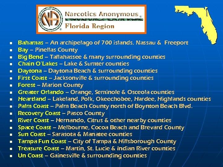 n n n n n Bahamas – An archipelago of 700 islands. Nassau &