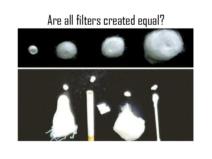 Are all filters created equal?