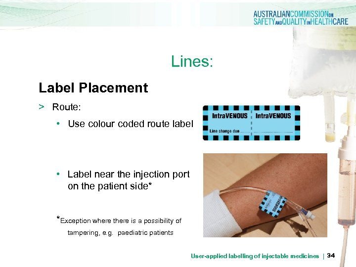 Lines: Label Placement > Route: • Use colour coded route label • Label near