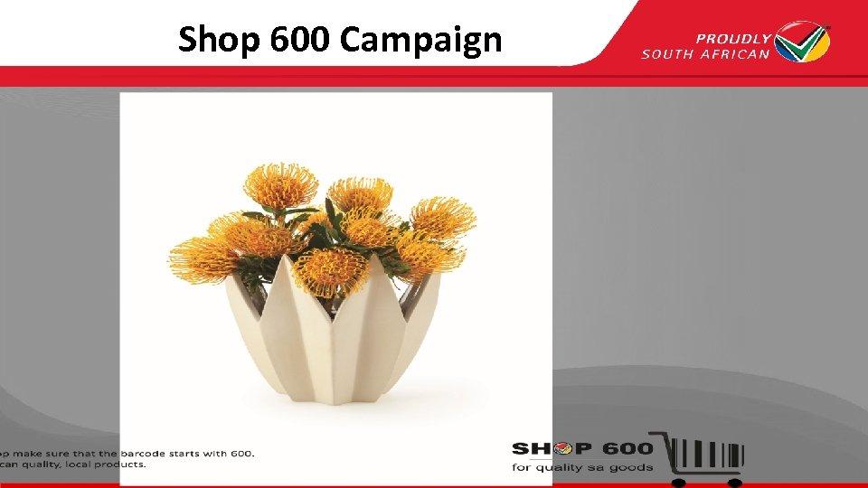 Shop 600 Campaign