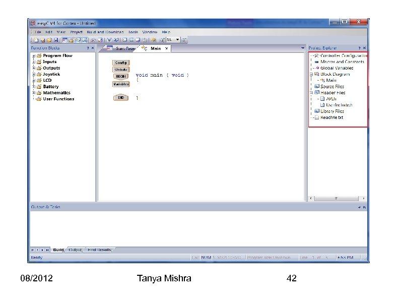 08/2012 Tanya Mishra 42