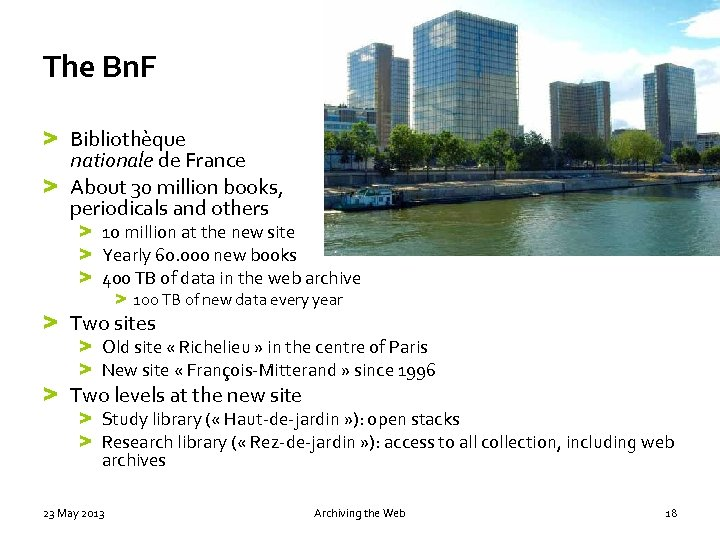 The Bn. F > Bibliothèque nationale de France > About 30 million books, periodicals