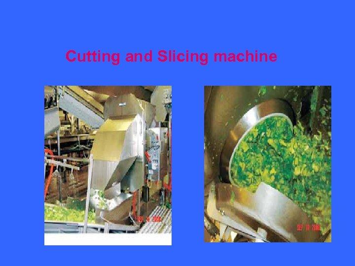 Cutting and Slicing machine