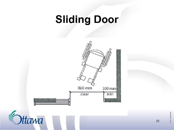 Sliding Door 23
