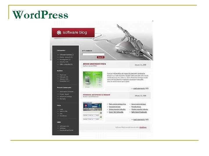 Word. Press